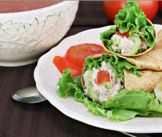 Healthy Tuna Wraps - Tuna is is rich in protein, low in fat and calories and is an excellent source of the essential omega-3 fatty acids which help to lower blood pressure and cholesterol. Buying fresh tuna is the best tasting and the best for us, but these days many rely on canned tuna for their favorite tuna recipe. When picking out your canned tuna, don't forget to Choose Wisely.