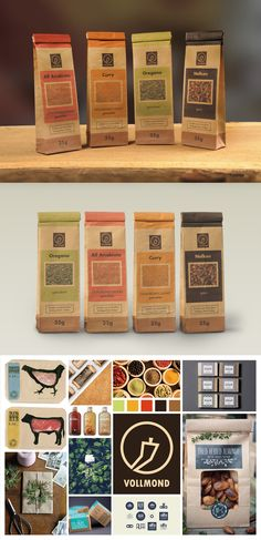 full moon spices   packaging design   corporate Identity   moodboard Vollmond Gewürze   Verpackungsdesign