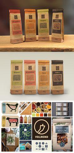 full moon spices | packaging design | corporate Identity | moodboard Vollmond Gewürze | Verpackungsdesign