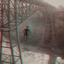 Create and share animated GIFs and 3D anaglyphs using more than 40,000 stereographs from The New York Public Library.