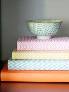 Wrap Books In Beautiful Patterns
