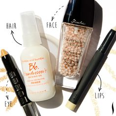 A primer on primer: See our top picks for prepping lips, face, hair, and eyes. #Sephora #Primer #Beauty