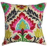 Found it at AllModern - Tahsis Floral Pillow
