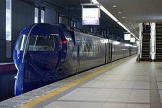 The Nankai rapi:t express train at the Kansai Airport Station