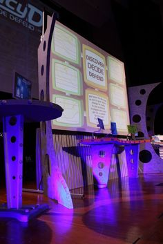 Agency D3 VBS Decorating Ideas | Agency D3 - Worship Rally - Headquarters