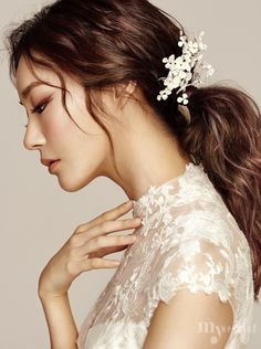 MYWEDDING 2017 웨딩 헤어와 메이크업 Beautiful Side Face
