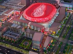 New Red Wings Arena <3