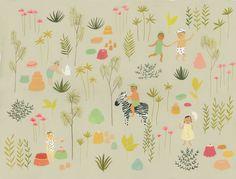 Jello Jungle by EsmeShapiro on Etsy, $30.00