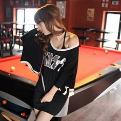 Women O-Neck Half Black Broadcloth Polyester Summer T-shirt $ 7.24