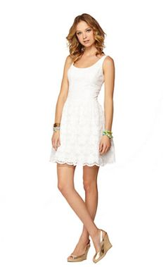 Calhoun Scoop Neck Dress