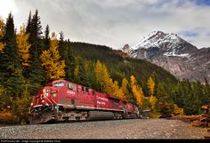 RailPictures.Net Photo: CP 8808 Canadian Pacific Railway GE ES44AC at Field, British Columbia, Canada by Matthew Hicks