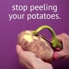 Potato Peeling Hack                                                                                                                                                                                 More