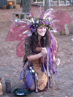 Fairy at Renaissance Fair 2009 by Shandeh, via Flickr