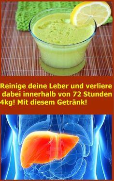 Reinige deine Leber und verliere dabei innerhalb von 72 Stunden 4kg! Mit diesem Getränk! | njuskam!