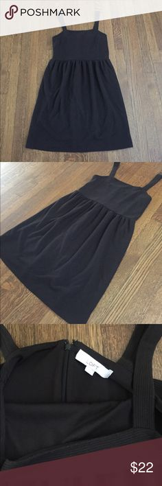 LOFT Dress Black dress. In great used condition. Can be dressed up for work or down for a more casual weekend look. Offers welcome through offer function. Lmk if you have any other questions. LOFT Dresses