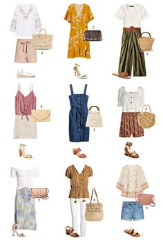 Chic Summer Outfits, Lit Outfits, Capsule Outfits, Fall Capsule Wardrobe, Fashion Capsule, Simple Outfits, Summer Dresses, Spring Fashion Trends, Spring Summer Fashion