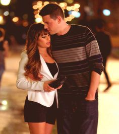 Cory and Lea <3 <3 So sad to see that these two won't be able to spend the rest of their lives together...