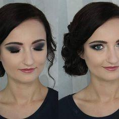 #weddingmakeup #smokeyeye #smokey #eyebrows #eye #makijaz #wesele2017 #wesele #face #girl #tarte #kosmetyki