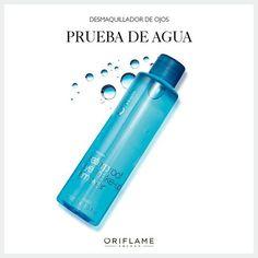 Si tu maquillaje es a prueba de agua, entonces tu desmaquillante también debe serlo, ya que estos productos son mucho más resistentes. #Desmaquillante #Waterproof #OriflameMX