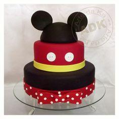 Cake de mickey & minnie