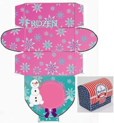 Frozen Party, Frozen Birthday, Gift Wraping, Envelope Box, Disney Princess Party, Print Calendar, Silhouette Cameo Projects, Preschool Activities, Crafts For Kids