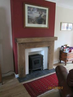 SOLID OAK FIRE SURROUND FEBRUARY ONLY 10% OFF | eBay