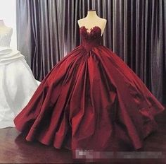 sunnybridal01 2017 Burgundy Quinceanera Dresses Ball Gown Sweetheart Lace Up Floor Length Masquerade Dresses Satin Appliques Vintage Long Prom Gowns