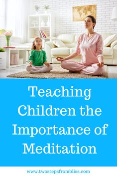 Meditation for Kids: The Ultimate Guide| Two Steps From Bliss | Meditation helps kids to relax, cope with the stress of school, and approach life with calmness. As a parent, a teacher, or anyone who deals with kids, it's useful to know how to teach meditation to children. #twostepsfrombliss #meditatingwithkids #spiritualityforkids Meditation For Anxiety, Best Meditation, Meditation For Beginners, Meditation Benefits, Meditation Music, Guided Meditation, Yoga For Kids, Kid Yoga, Physical Education Games