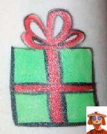 presents face paint Diy Face Paint, Christmas Face Painting, Cheek Art, Face Painting Tutorials, Bored Kids, Diy Presents, Face And Body, Photo Art, Diy Christmas