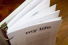 my life pdf. good life book idea!