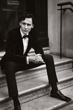 How To Wear Black Tie with Tom Hiddleston | Esquire UK, 22 November 2011.