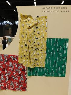Premiere Vision 2019 S/S Fabric Selection Textile Prints, Textile Design, Trends Map, Fabric Patterns, Print Patterns, Pattern Design, Print Design, Animal Mashups, Media Design