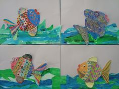 Once upon an Art Room: Ocean Animals