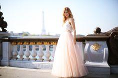 Trendy Look. Look con falda de tul. A trendy life. #trendy #chic #tulskirt #partylook #tul #pinkskirt #biker #paris #bgo&me #chanel #outfit #fashionblogger #atrendylife www.atrendylifestyle.com