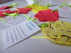 Le tuto du papier à planter. C'est facile, c'est écolo, c'est joli. Diy And Crafts, Crafts For Kids, Diy Planters, Creative Activities, Homemade Gifts, Holiday Crafts, Make It Yourself, Parents, Garance
