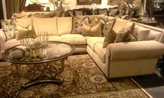 Bentley Two Piece Sectional. Regular Price $10,148.95, Mathis Brothers  Price $6,596.95. Please Ask For Dessie At The Reception Desk.