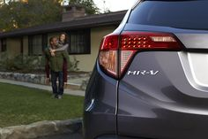The HR-V Crossover is even more fun to drive with someone in the passenger seat.