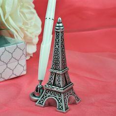 Le porte stylo Tour Eiffel pour un mariage thème Paris