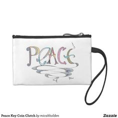 Peace Key Coin Clutch Coin Wallets