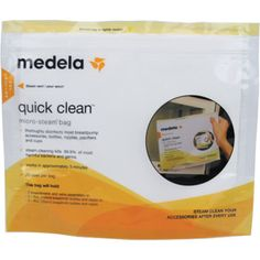 Medela - Quick Clean MicroSteam Bags, 5ct $5.37  multiple bags would be appreciated thank you
