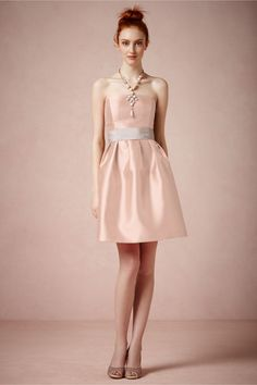 Levity Dress in Rose from BHLDN
