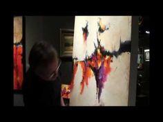 Mark Yearwood Timelapse Video at Lovetts Gallery, Tulsa, OK