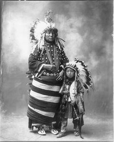 North American Indian family