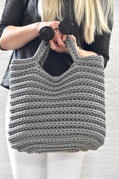 Crochet Market Bag, Crochet Tote, Crochet Handbags, Crochet Purses, Crochet Gifts, Knit Crochet, Scandinavian Style, Knitting Patterns, Womens Fashion