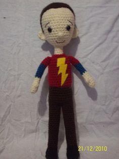 Bazinga!! Sheldon from The Big Bang Theroy.