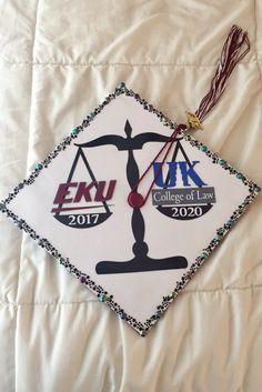 Law school bound graduation cap.