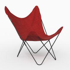 Lovely Canvas Butterfly Chair 2 Good Ideas
