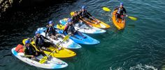 World-class Kayaking and Sea Kayaking in the Pembrokeshire Coast National Park with TYF Adventure. Come kayaking with the pioneers of adventure sport in Pembrokeshire.