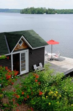 This would be my other half's dream home right on the water