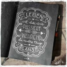 Best Garden Decorations Tips and Tricks You Need to Know - Modern Chalk Lettering, Brush Lettering, Ideas Scrapbook, Life Is What Happens, Chalkboard Art, Chalk Art, In Writing, Scrapbooking, About Me Blog